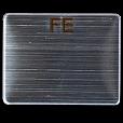 Железная пластина, образец FE